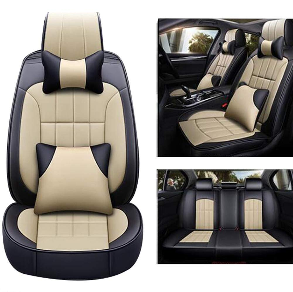 Jaguar Car Seat Covers Auto Interior Accessories for F PACE S TYPE X TYPE,Beige F TYPE NUANXIN XJ I PACE XK XE XF