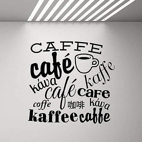 BFMBCH Etiqueta de la pared del café Cartel de la cocina ...