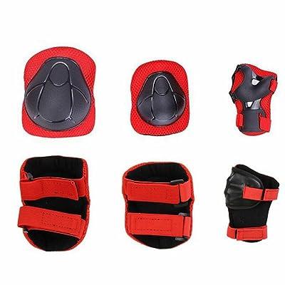 ZHIHUI Enfants Sports De Protection Gear Set, Genouillères Coudières Soutien-Poignet pour enfants Roller Patinage Vélo Équitation Skateboard