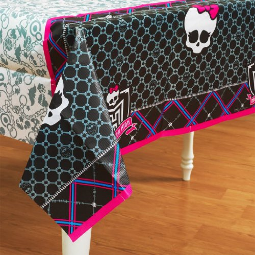 Tablecover Monster Paper High (Toy / Game Monster High - High Quality Paper Tablecover Party Accessory (14 x 6.8 x 0.5 inches ; 3.4)