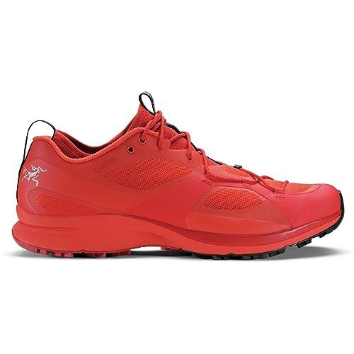 Arc'teryx Norvan VT GTX Trail Running Shoe - Men's Red Beach/Safety, US 7.0/UK 6.5