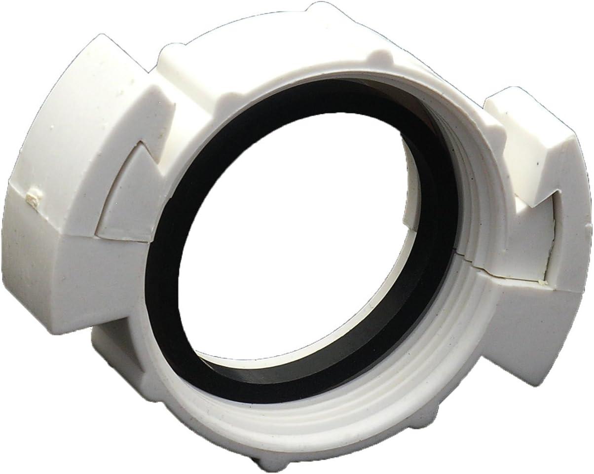 LASCO 03-1823 Die Cast Slip Joint Nut Kit Chrome 1-3//8 x 1-1//4