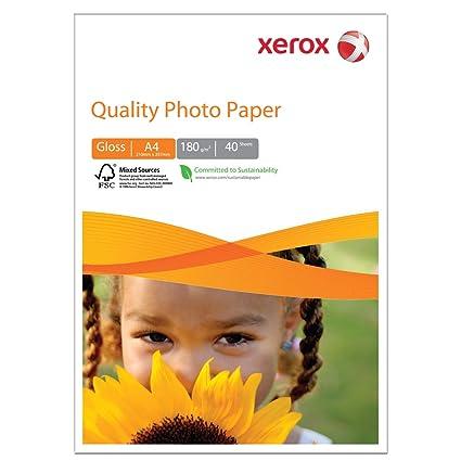 Xerox - Papel fotográfico para impresoras de inyección de ...