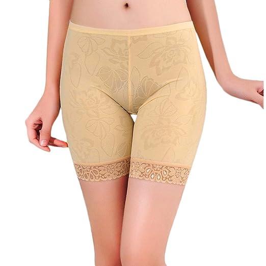 d820e7294 Hot Sale ❤ Lace Flower Elastic Leggings Pants Underwear,Girls Antibacterial Seamless  Safety Shorts