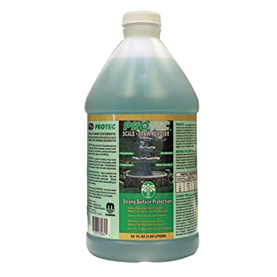 McGrayel Protec 60064 Scale and Stain Preventative and Remover : Protec Fountain Cleaner : Garden & Outdoor