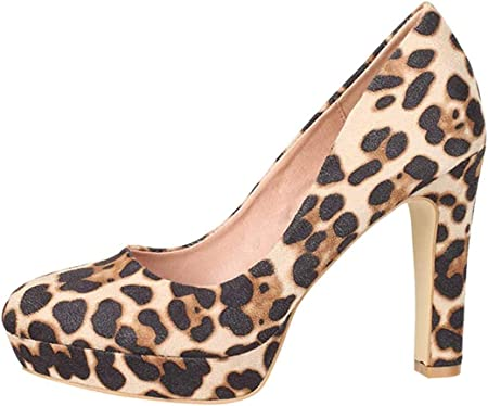 Elara Zapato de Tacón Alto para Mujer Vintage Chunkyrayan