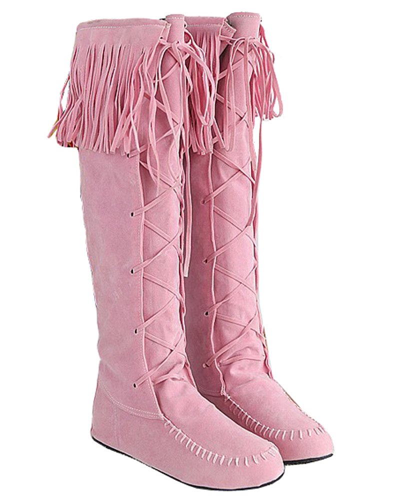 HiTime Indiennes Bottes Indiennes 19642 Femme B077Z99BBG Rose a020675 - fast-weightloss-diet.space