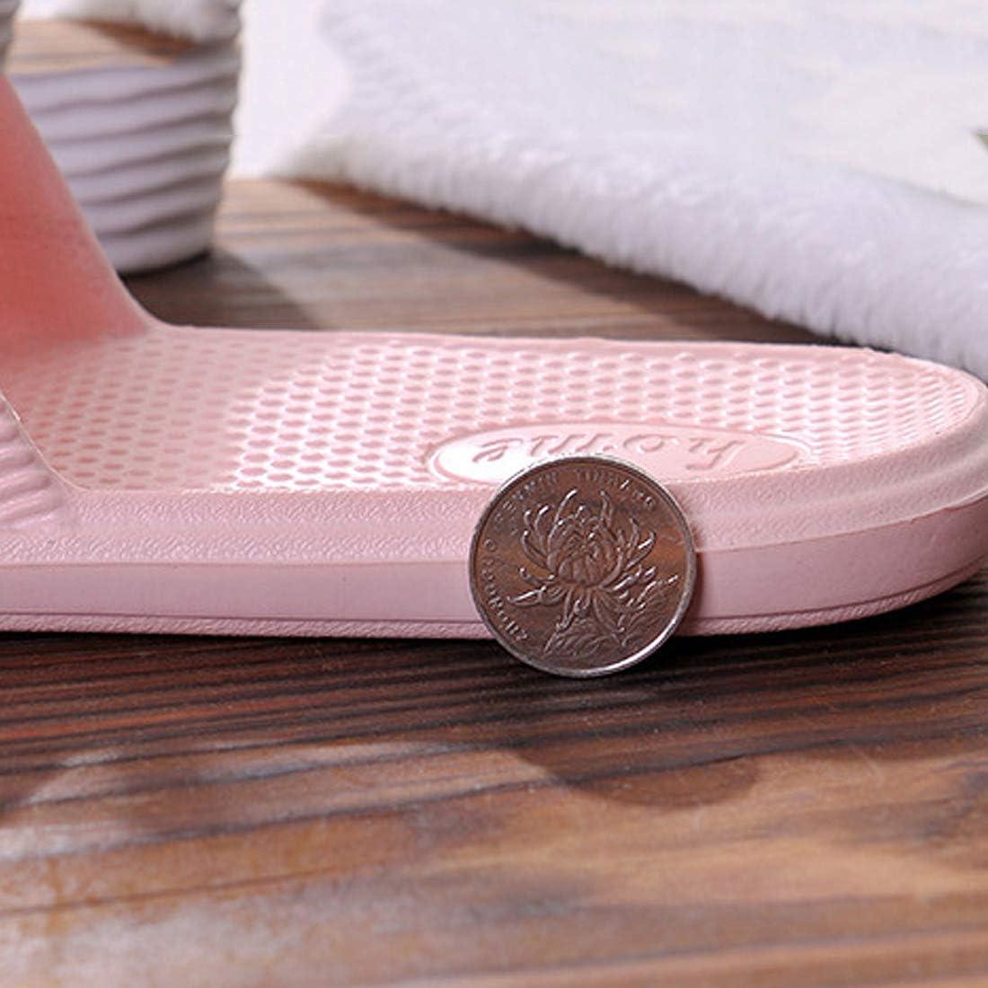 YUENA CAREUnisexe Sandales Antid/érapant Douche Salle de Bain Chaussons Souple EVA Int/érieur Ext/érieur Chaussures de Plage Piscine #D