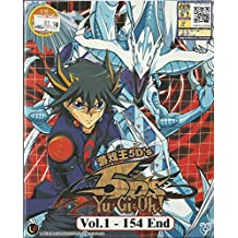 YU-GI-OH ! 5D'S - COMPLETE TV SERIES DVD BOX SET