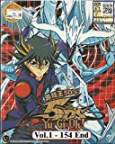 YU-GI-OH ! 5D'S - COMPLETE TV SERIES DVD BOX SET ( 1-154 EPISODES )