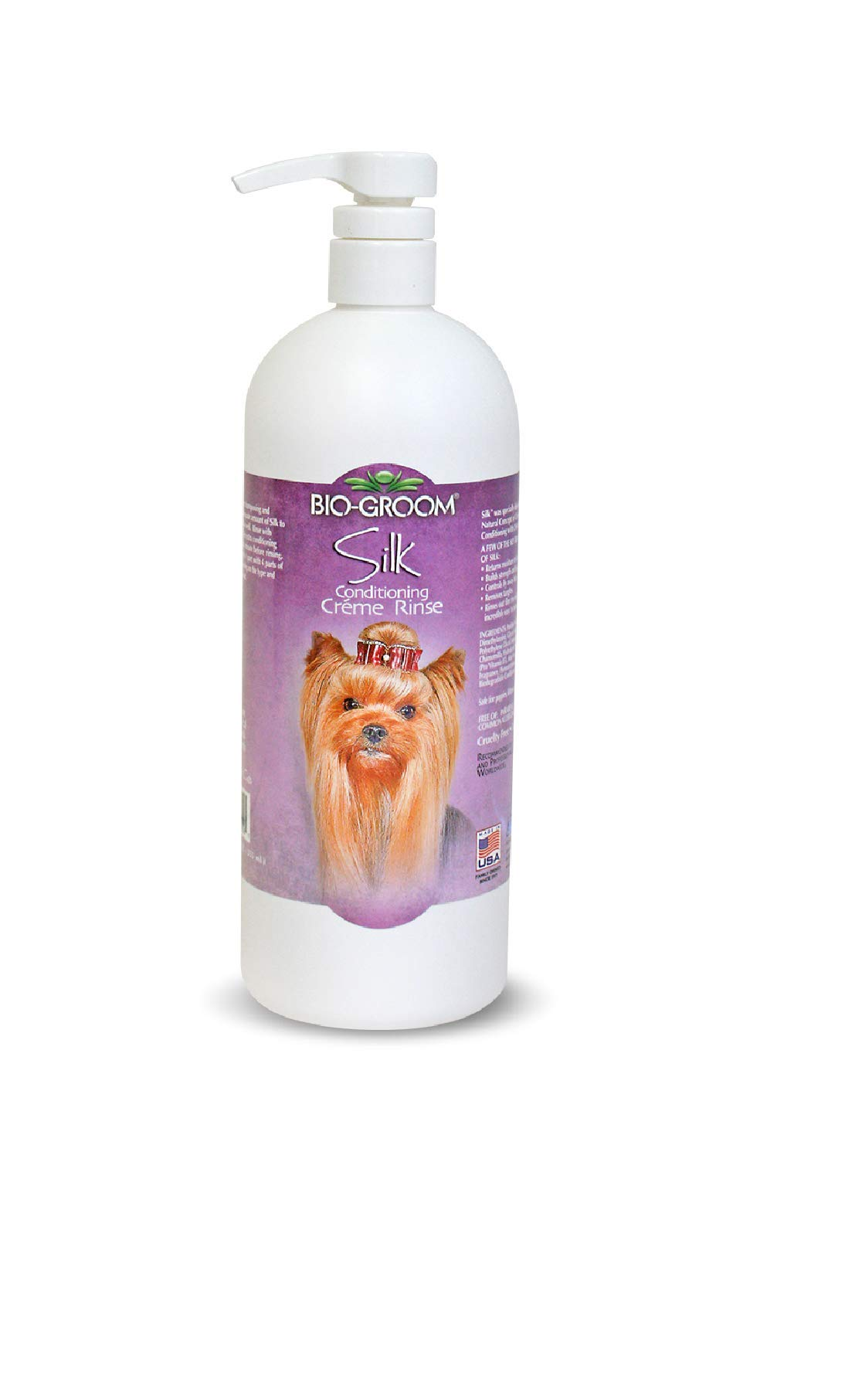 Bio-groom 32032 32 oz Silk Conditioning Creme Rinse