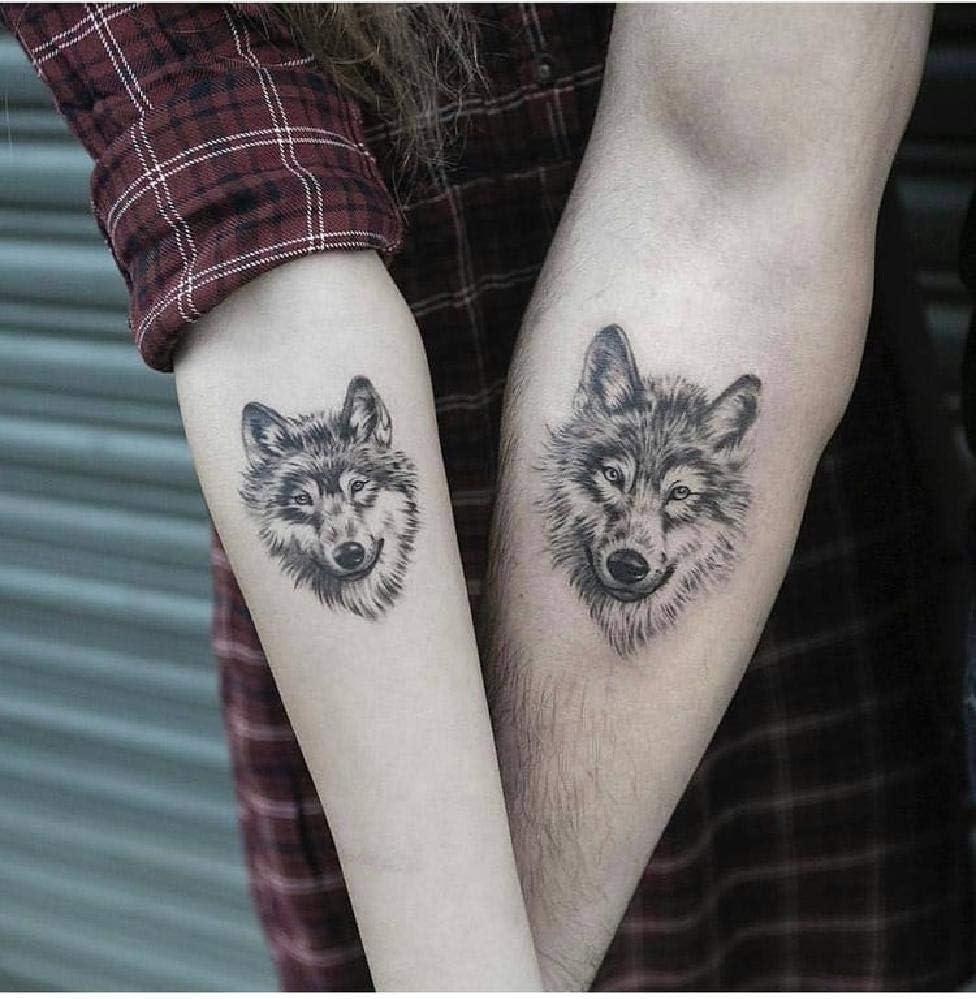 Puzzle 1000 Piezas para Adultos Infantiles Madera Tatuaje de Lobo ...