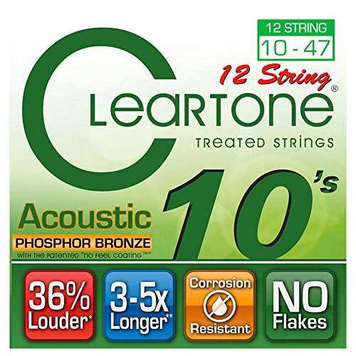 (Cleartone Acoustic .010-.047 Light 12)