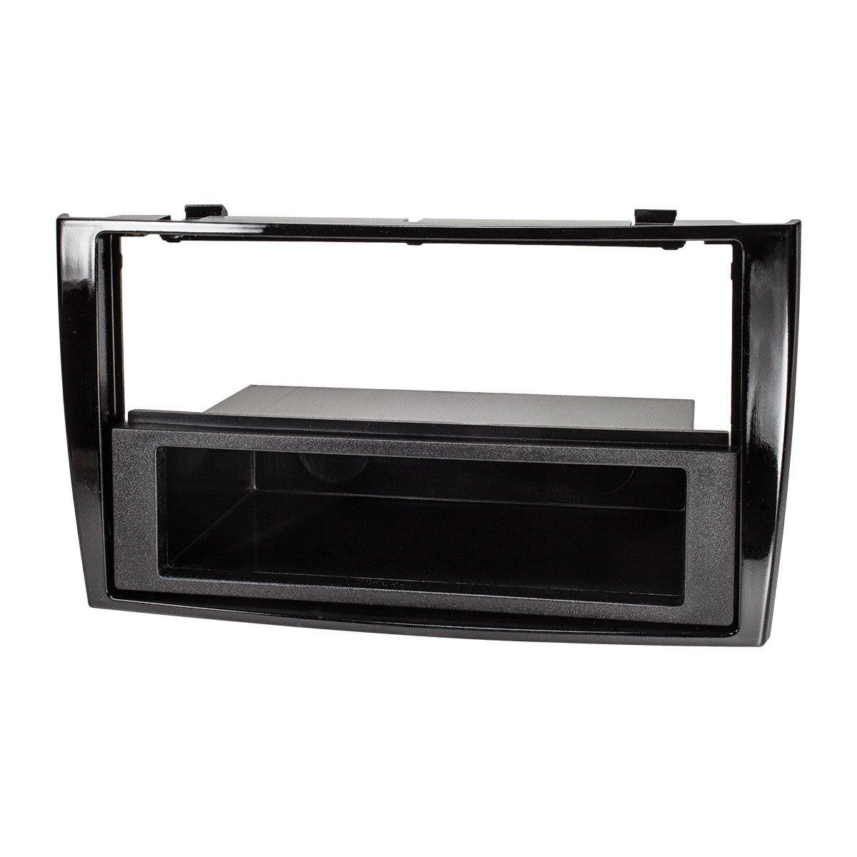 tomzz Audio /® 2440-018 Radioblende f/ür Peugeot 308 308CC RCZ Piano schwarz gl/änzend