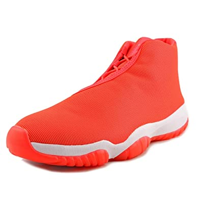 the best attitude 2b79f d1f38 Jordan Nike Air Future Men Sneakers Infrared 23 White 656503-623 (SIZE