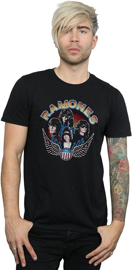 Ramones-Tee-Vintage WINGS PHOTO