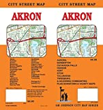 Akron / Summit County, Ohio Street Map