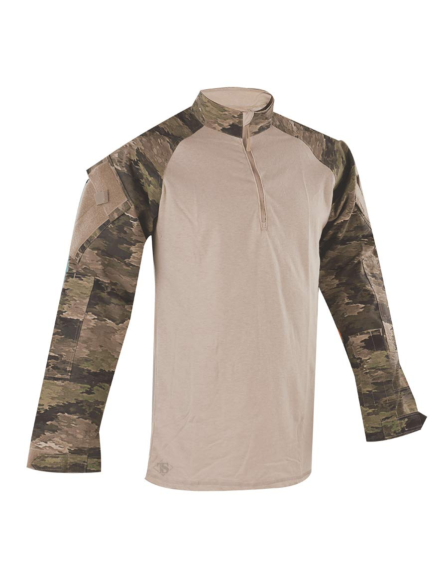 Tru-Spec Men's Tactical Response Combat Shirt, A-TACS iX, Large/Regular by Tru-Spec