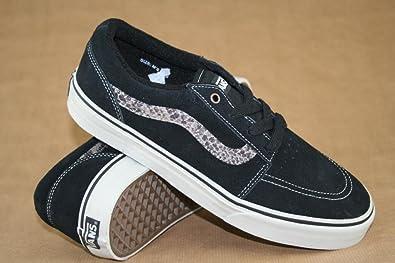5b67acb0717952 Vans Collins (Snake) Black Warm Gry Sample Skate Shoes UK 8  Amazon ...