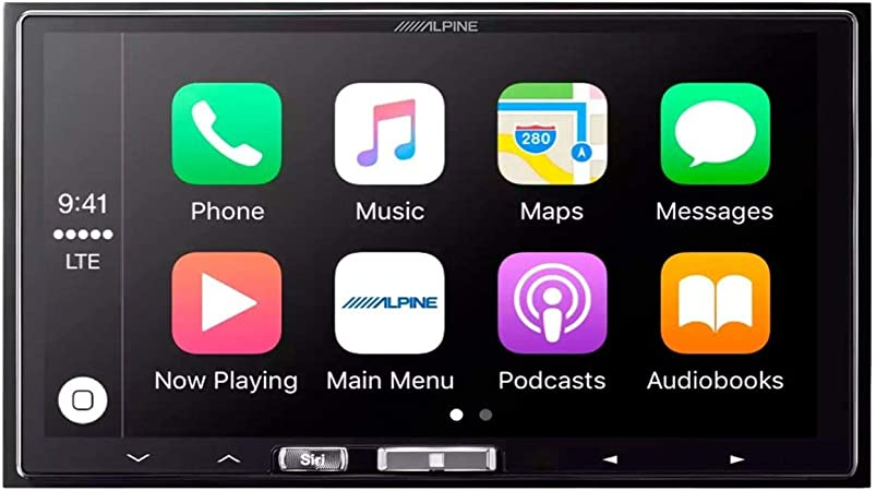 Alpine Ilx 107 17 8 Cm Mech Less Empfänger Mit Kabelloser Apple Carplay Navigation
