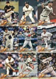 2018 Topps Series 2 Baseball San Francisco Giants Team Set of 13 Cards: Kelby Tomlinson(#380), Sam Dyson(#398), Joe Panik(#488), Reyes Moronta(#519), San Francisco Giants(#536), Mark Melancon(#560), Brandon Crawford(#585), Gorkys Hernandez(#592), Cory Gearrin(#613), Derek Holland(#648), Gregor Blanco(#664), Hunter Strickland(#684), Tony Watson(#692)