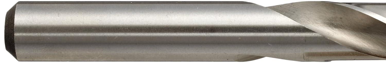 Pack of 5 Slow Spiral YG-1 D1GP High Speed Steel Gold-P Jobber Drill Bit 7//16 Diameter x 5-1//2 Length 135 Degree TiN Finish Straight Shank