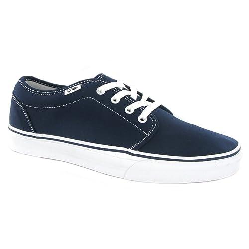 dec6048bba Vans Men s 106 Vulcanized Navy Blue Shoes 099ZNVY ...