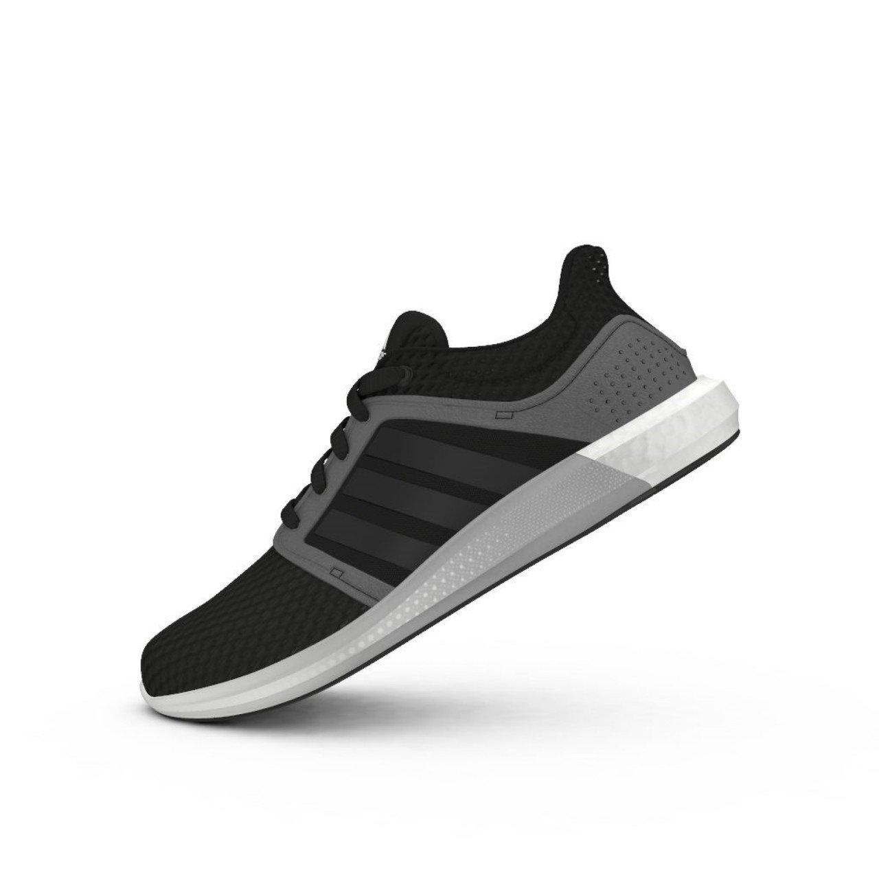 bdbc8efc84cc4 adidas Boost Solar RNR Running Shoes Mens Black Gym Fitness Trainers  Sneakers  Amazon.co.uk  Sports   Outdoors