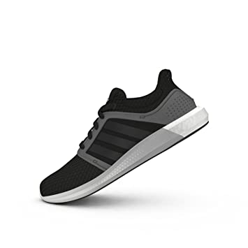356fa55bf32c7 adidas Boost Solar RNR Running Shoes Mens Black Gym Fitness Trainers  Sneakers (UK6)(