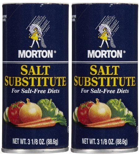 - Morton Salt Substitute, 3.12 oz, 2 pk