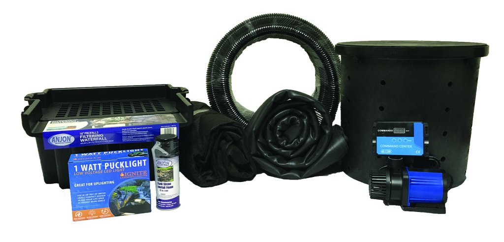 Anjon Small Pondless Waterfall Kit 3000 GPH pump 7.5 foot x 10 foot PSAN4 by Patriot