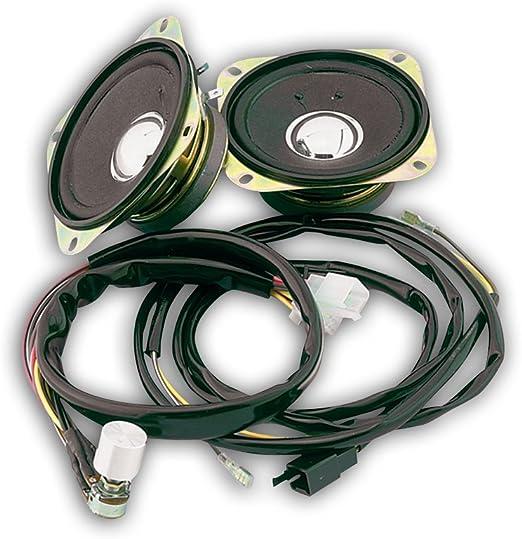 52-607 Rear Radio Speaker Kit Show Chrome Accessories