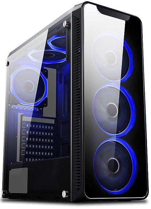VIBOX Nebula GSR550T-57 Gaming PC Ordenador de sobremesa con ...