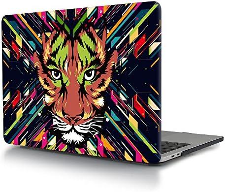 Carcasa MacBook Pro 13 2016 2017, TwoL Funda dura para MacBook Pro 13 con/sin Touch Bar (A1706/A1708),León Colorido