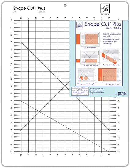 June Tailor Shape Cut Rotary Cutting Tool-12x18