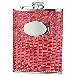Blossom Household Portable Alcohol Liqour Pink Hip Flask for Ladies, Pink