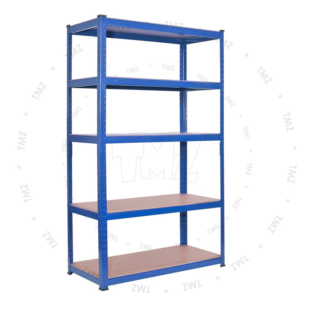 (1800 x 900 x 450)mm heavy duty boltless metal steel shelving shelves storage unit Industrial BLUE TMZ ©
