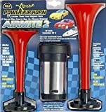 Wolo (400) Airmite 2 Power Air Horn - 12 Volt, Low and High Tone by Wolo