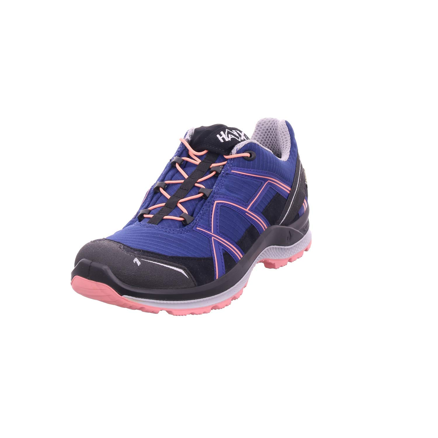 HAIX nero Eagle Adventure 2.1 GTX Low Donna Streetwear Indigo-Peach