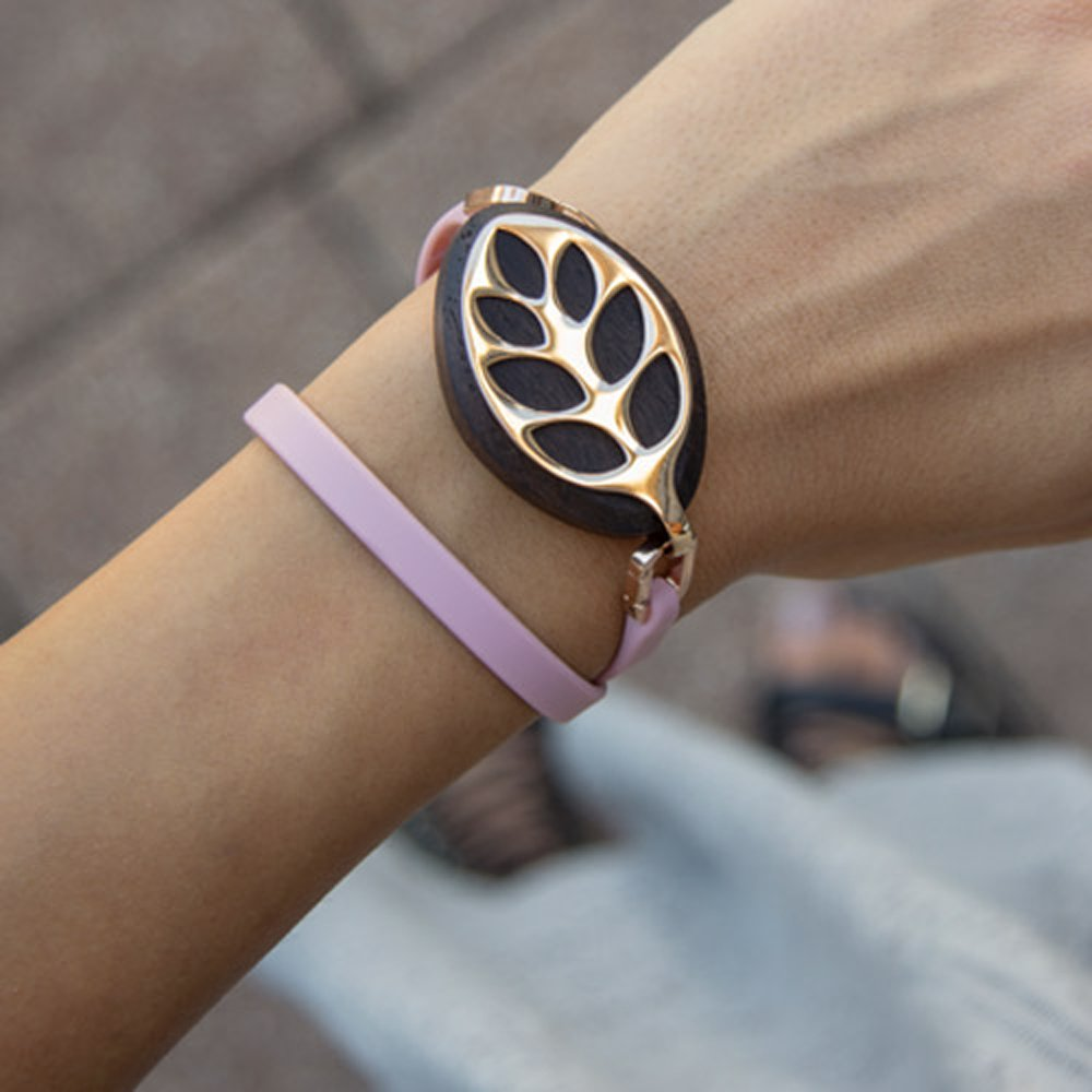 Bellabeat Leaf Nature Health Tracker Rose Gold (HT-10LF-RG-02) with 1 Year Extended Warranty by Bellabeat (Image #6)