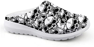 Chaussures d'été tête de mort 1