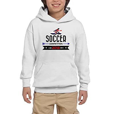 2018 Soccer Competition Croatia Youth Unisex Hoodies Print Pullover Sweatshirts