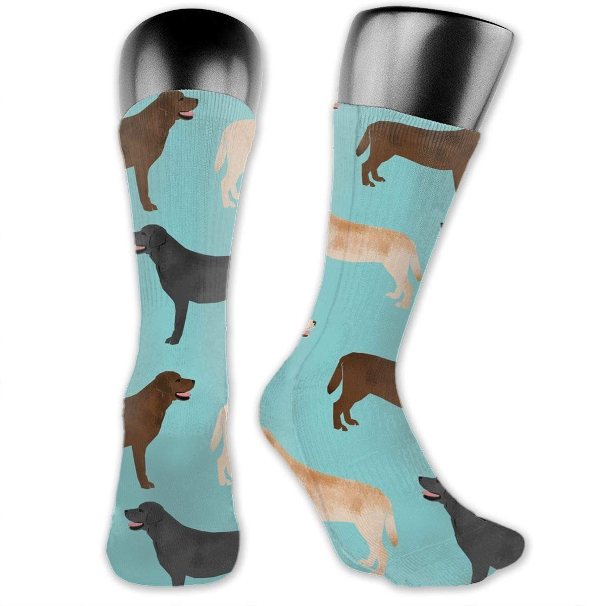 Unisex Cute Puppy Playing Dogs Athletic Quarter Ankle Print Breathable Hiking Running Socks