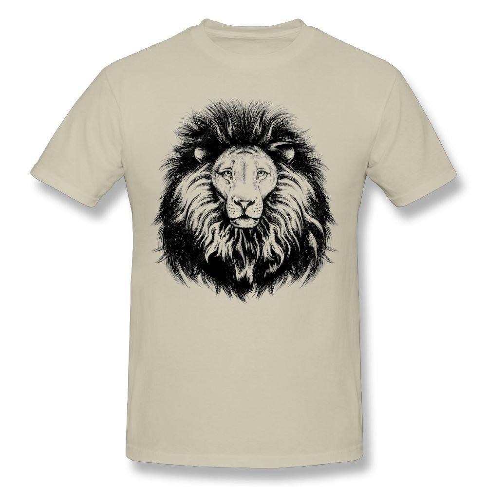 ATIWING Cartoon Animal Art Short Sleeve T-Shirt Cute Cotton Tee Tops