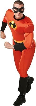 Los IncreÍbles - Disfraz Mr Musculoso AD, Multicolor, XL (Rubies ...