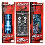 MICRO Build Your Own Skateboard Kit Complete Set for a D.I.Y. Project (C), Multicolor