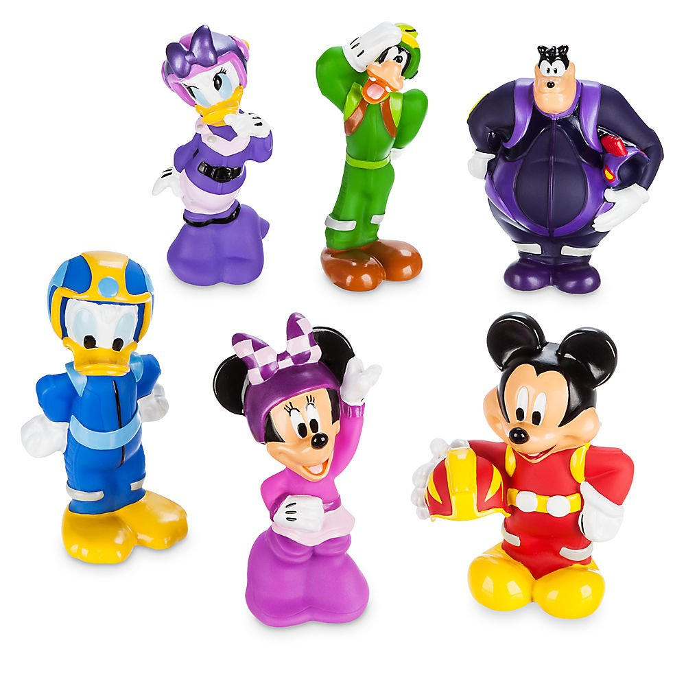 Amazon.com: Disney Mickey and the Roadster Racers Squeeze Toy Set ...