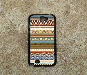Galaxy Note 2 Case Cover, Indian Aztec Tribal Design Cute Cases for Samsung Note