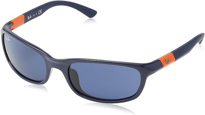 Supervisar terciopelo Izar  Ray Ban Junior 9056S Gafas de Sol para Niños/Niñas, Azul: Amazon.es: Ropa y  accesorios