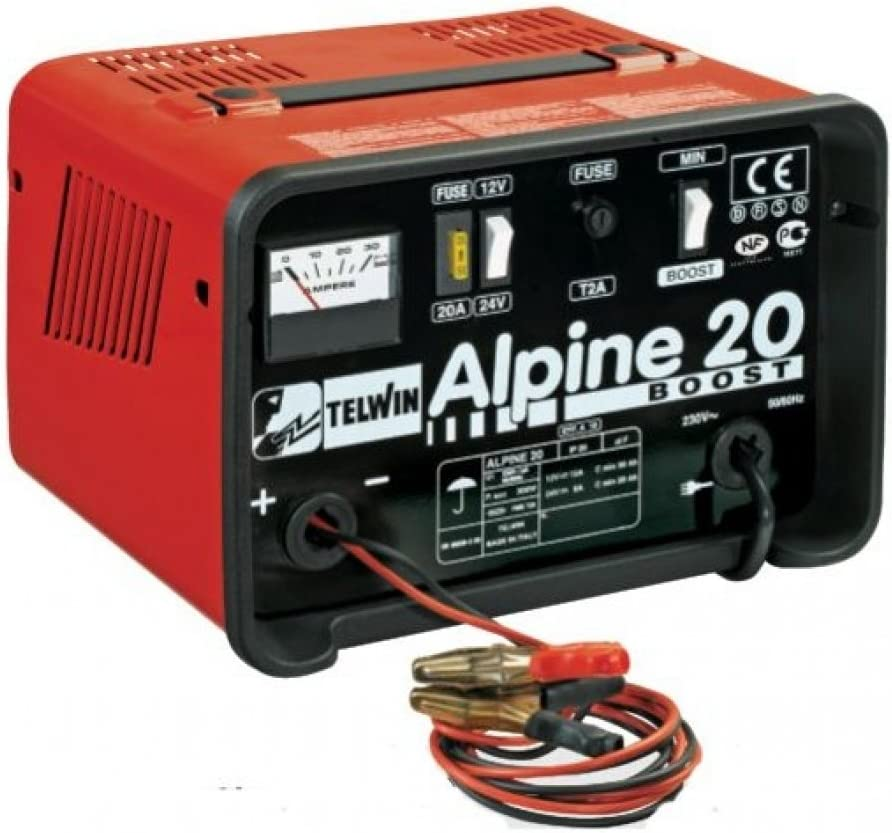Chargeur de batteries 12//24V 18//12A Alpine 20 boost